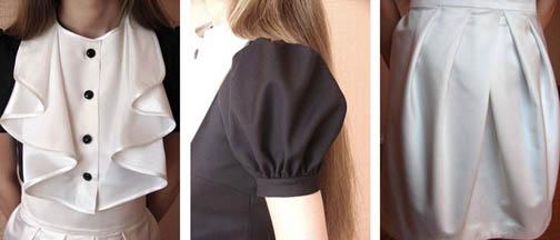 Выкройка юбки-тюльпан от Анастасии Корфиати 91