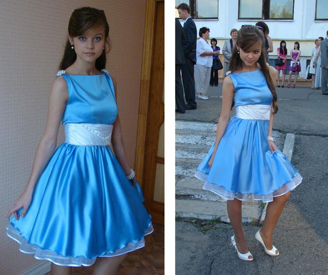 Платья выпускные сшить 10