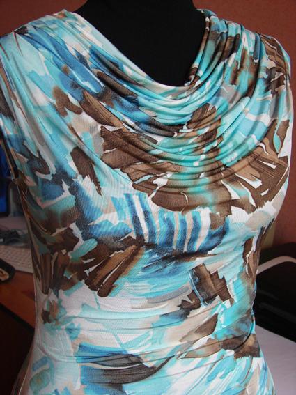 вязание летних платьев спицами для полных